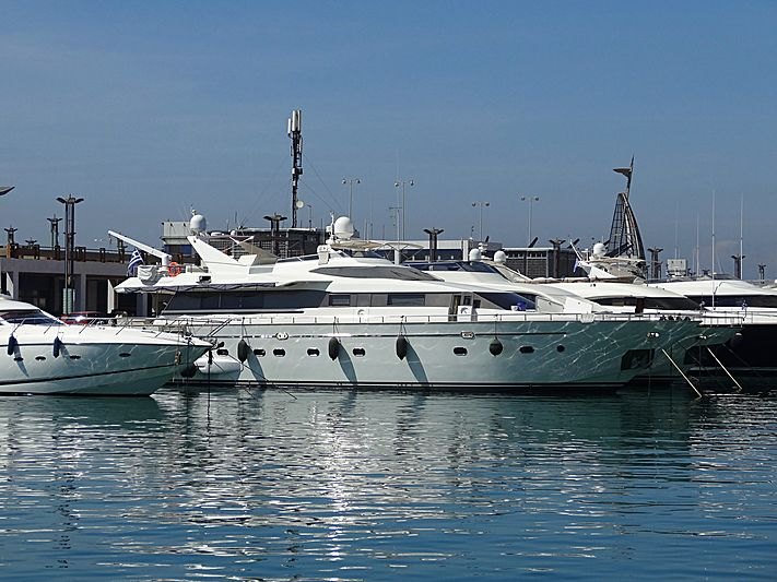 LUCY PINK yacht Falcon