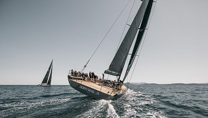Open Season at the 2019 Loro Piana Superyacht Regatta Day 1