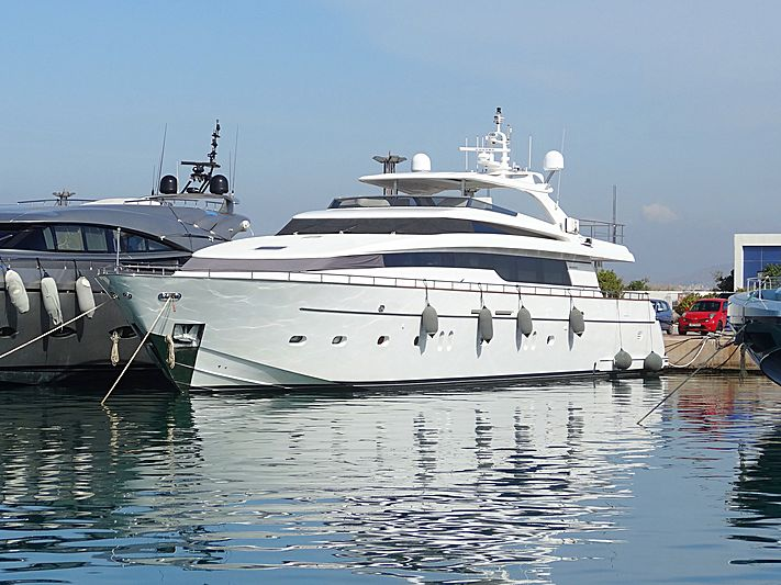 MEDORA yacht Sanlorenzo