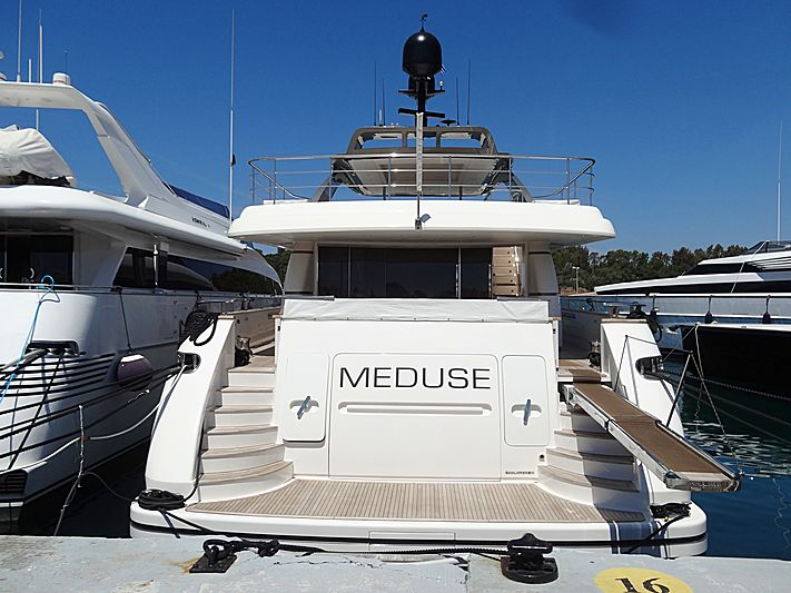 Meduse yacht in Vouliagmeni
