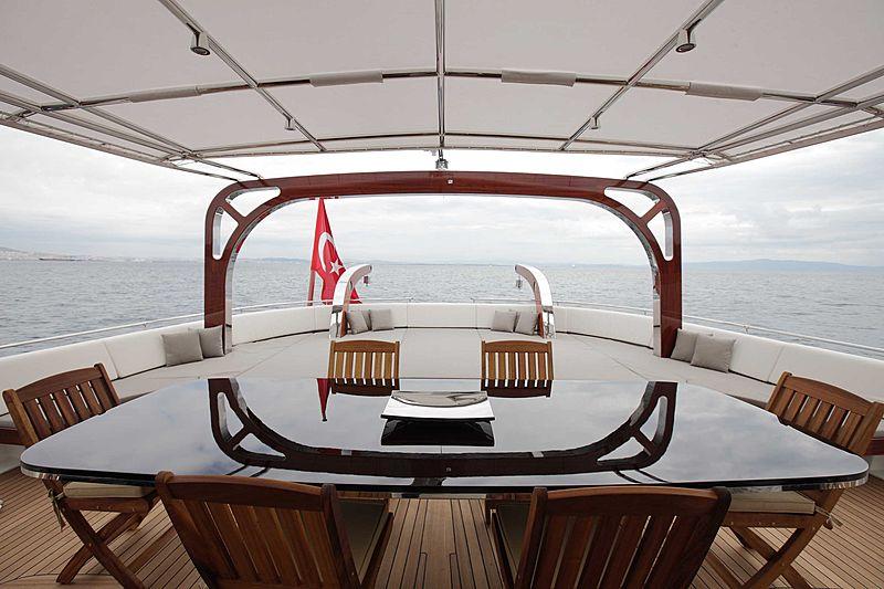VAY yacht deck