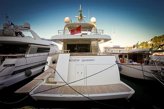 WHITE QUEEN  yacht Canados