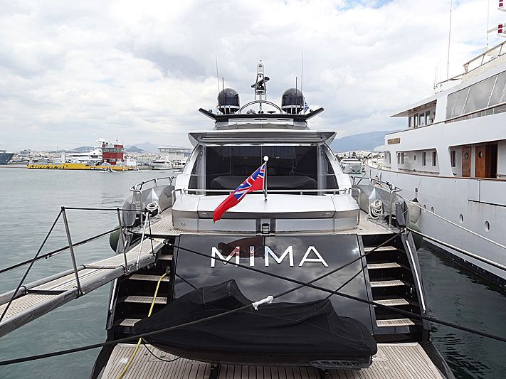 Mima yacht in Athens