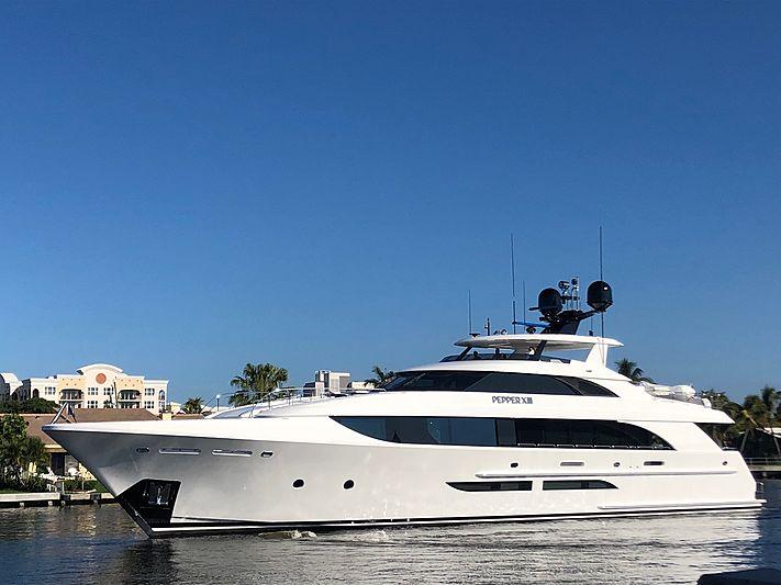 Pepper XIII yacht by Westport