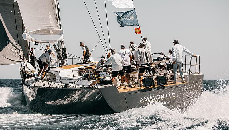 Ammonite yacht at the 2019 Loro Piana Superyacht Regatta Day 2