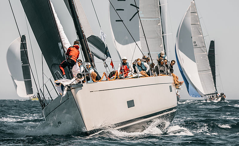 2019 Loro Piana Superyacht Regatta Day 2