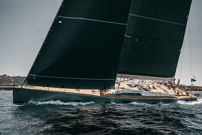 Kiboko Tres at the 2019 Loro Piana Superyacht Regatta Day 2