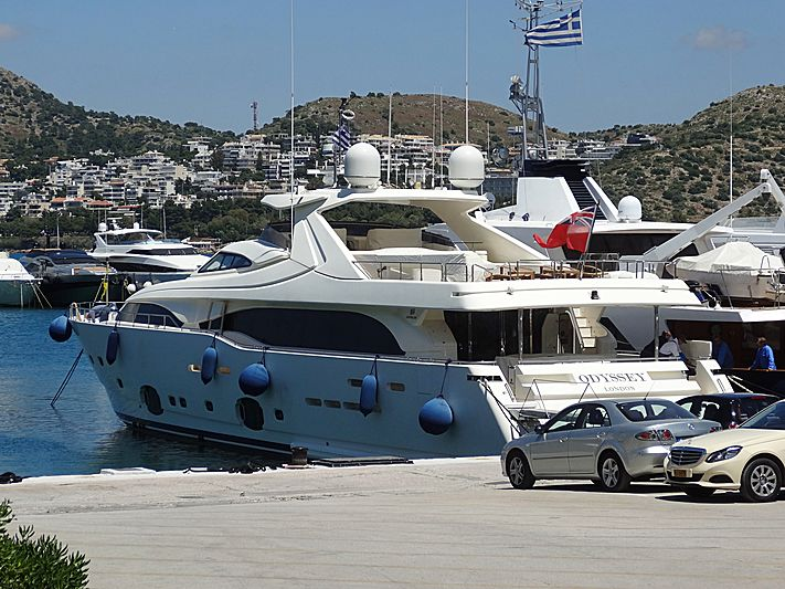 Odyssey London yacht in Vouliagmeni