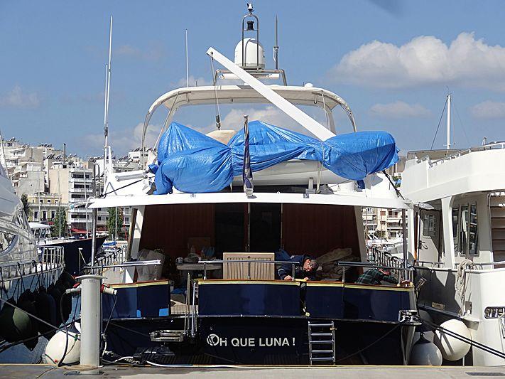 OH QUE LUNA  yacht Admiral