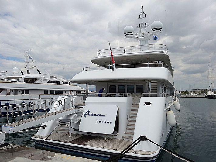 Petara yacht in Athens