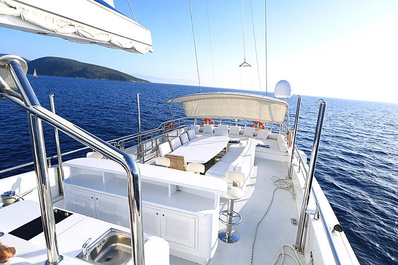 Gulmaria yacht flybrige