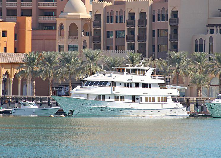 Mehzam yacht in Doha