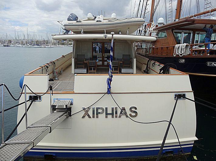 Xiphias yacht in Athens