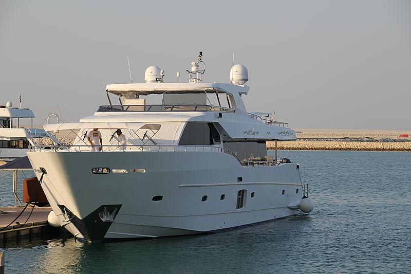 LULWA yacht Gulf Craft