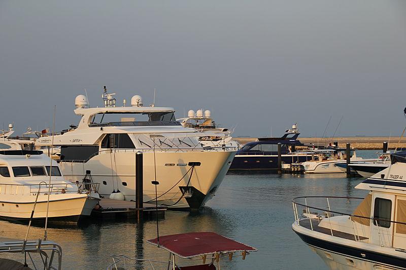 Lulwa yacht in Doha