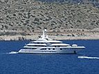 Valerie yacht anchored off Vouliagmeni