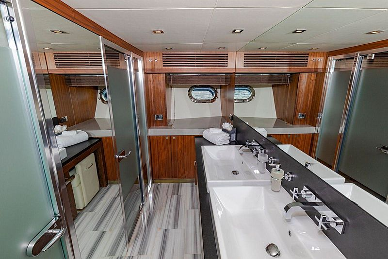Usele$$ yacht bathroom