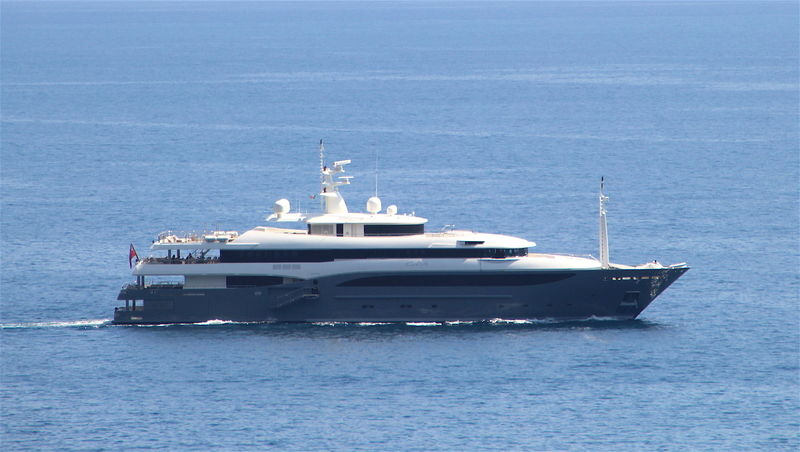 CONSTANCE yacht CRN