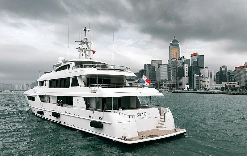 Sunone yacht by Horizon Yachts in Hong Kong