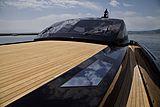 Cara Montana yacht deck
