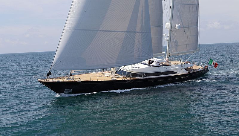 Fidelis yacht sailing