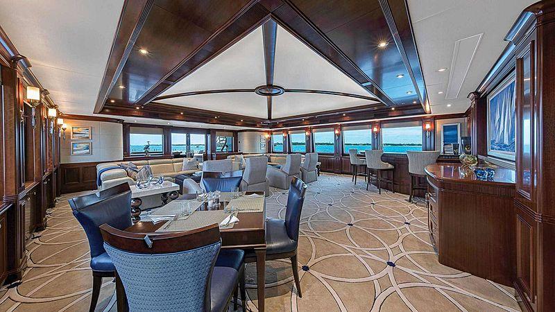 Sovereign yacht saloon
