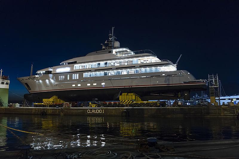 Atomic yacht launch
