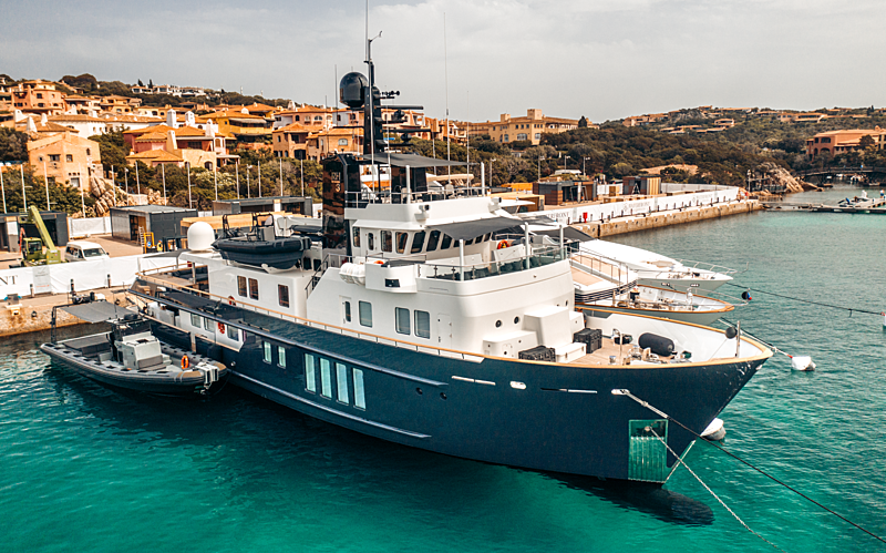 RH3 yacht in Marina di Porto Cervo