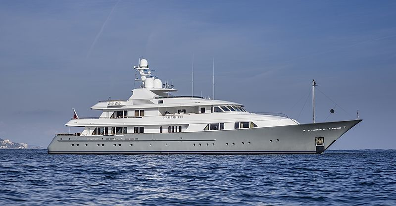 Hampshire I yacht by Feadship