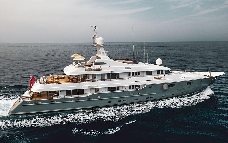 Mosaique yacht cruising