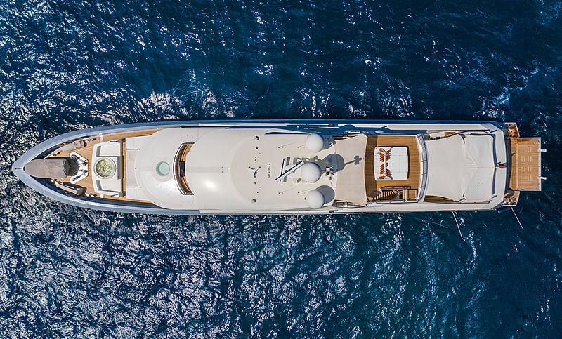 Belongers yacht aerial