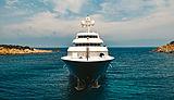 Cocoa Bean yacht bow