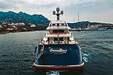 Cocoa Bean yacht stern