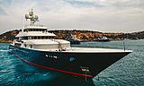Cocoa Bean yacht cruising