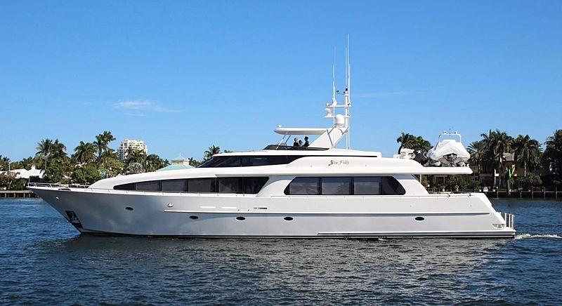Sea Filly yacht cruising