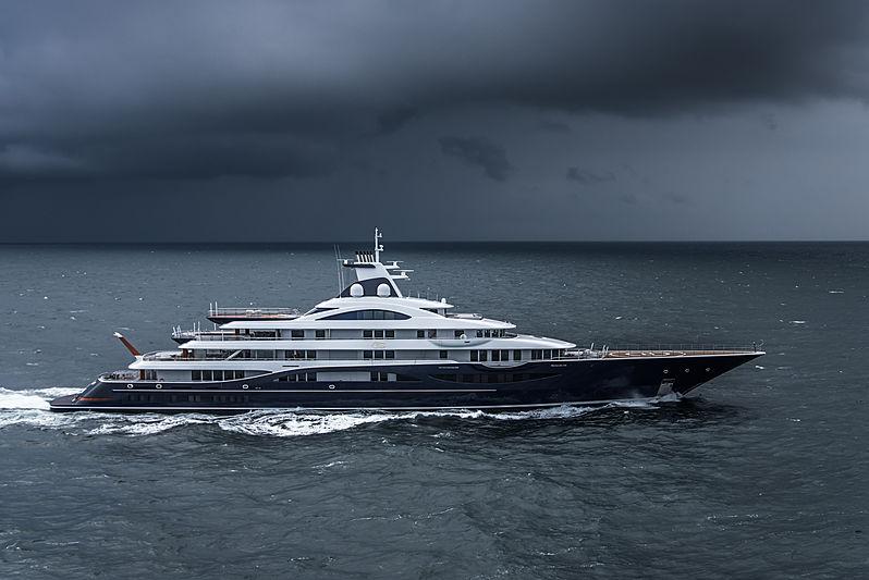 Comment rester en sécurité par mauvais temps sur un yacht