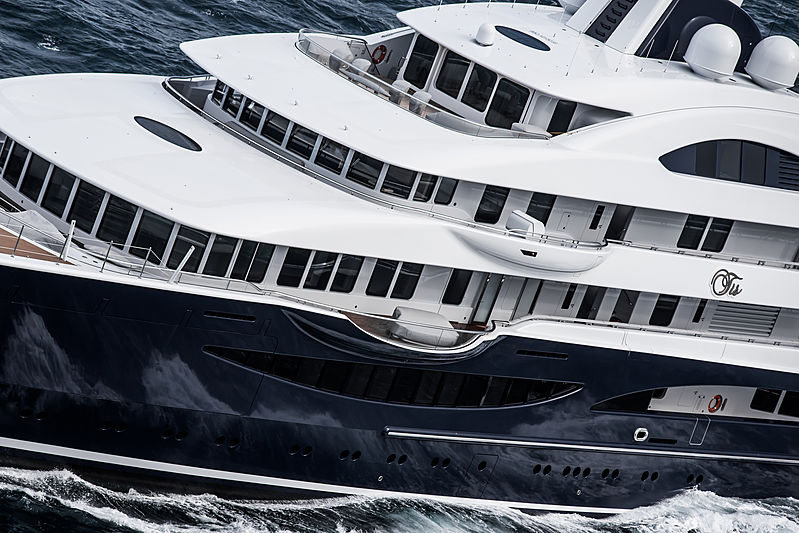 TIS yacht by Lürssen maiden voyage