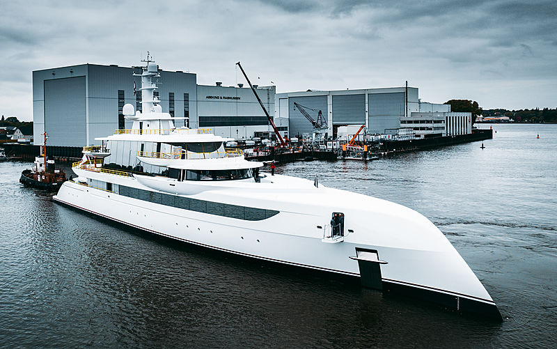 Excellence yacht by Abeking & Rasmussen launch