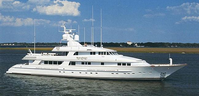 Braveheart yacht cruising