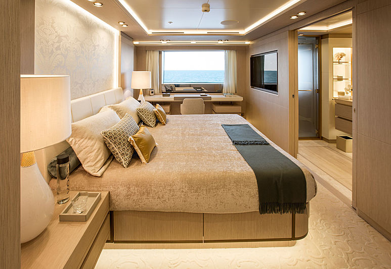 Dragon yacht stateroom