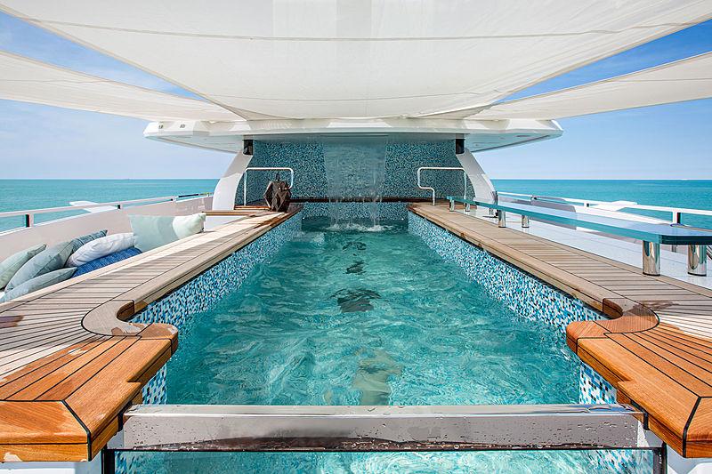 Dragon yacht pool
