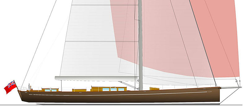 Baltic 117 Custom Classic sloop