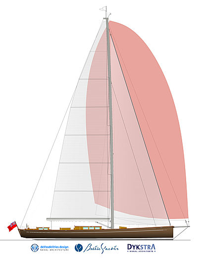 Baltic 117 Custom Classic sloop