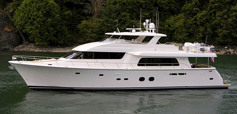 NOW OR NEVER yacht Pacific Mariner LLC.