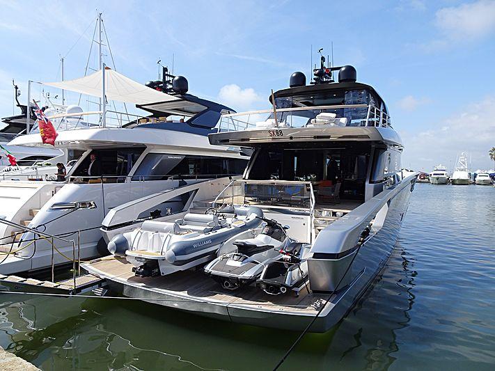 Sanlorenzo SX88/02 yacht at the Versilia Yachting Rendez-vous