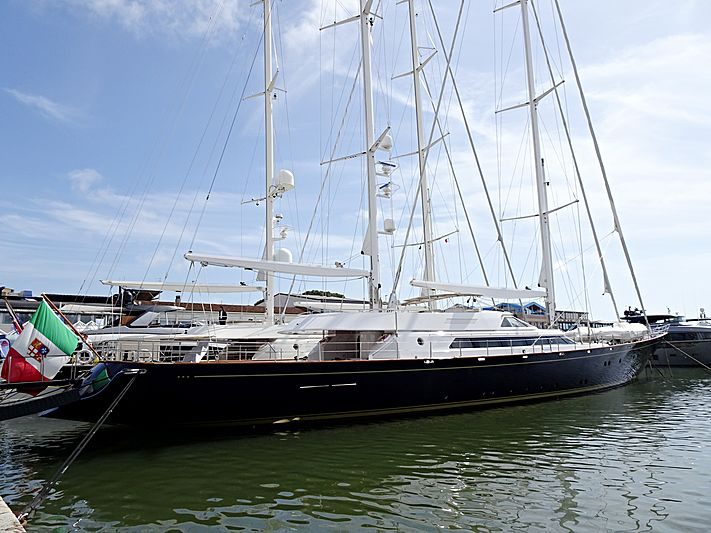 Morning Glory yacht at the Versilia Yachting Rendez-vous