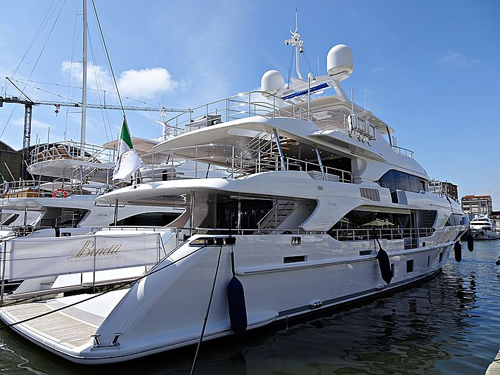 Benetti BS011 yacht at the Versilia Yachting Rendez-vous