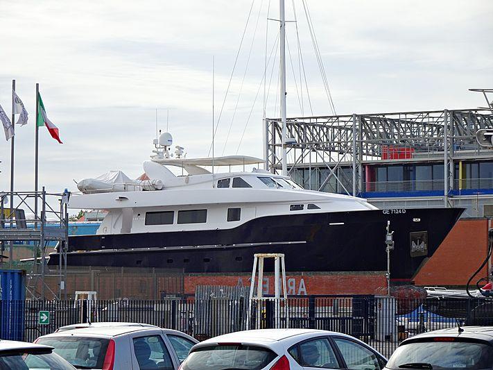Wolf Two yacht in Viareggio