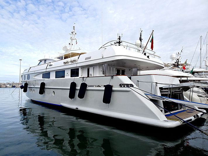 Sophie Blue yacht in Viareggio
