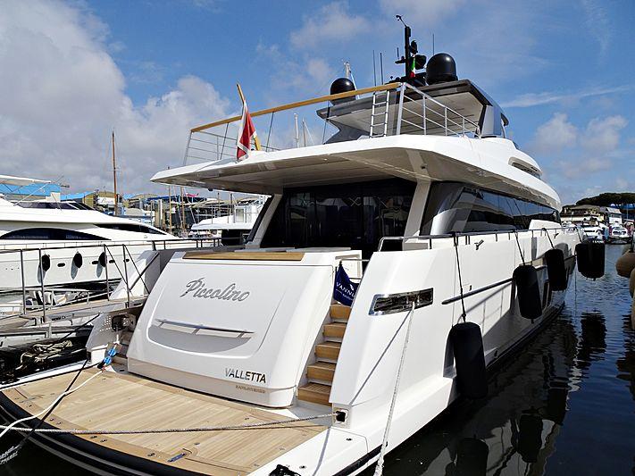 Piccolino yacht in Viareggio